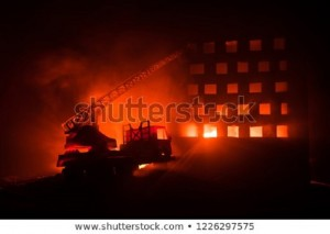 extinguish-fire-private-house-night-450w-1226297575