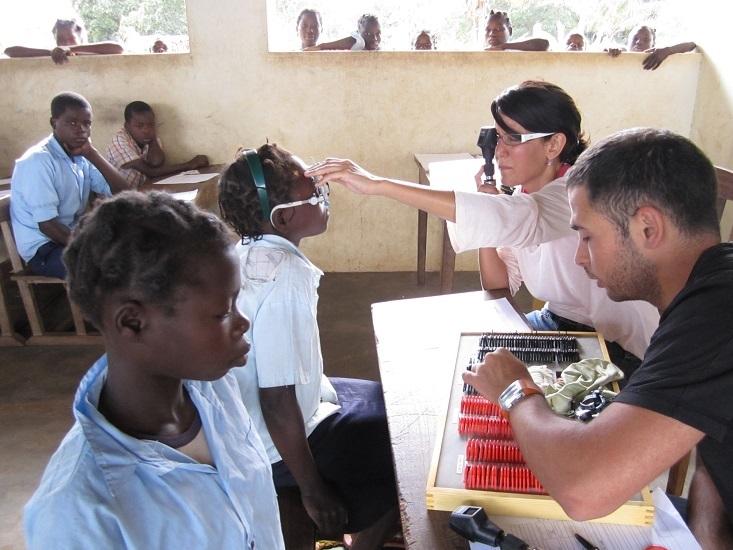 Ojos del mundo: 18 años luchando contra la ceguera evitable