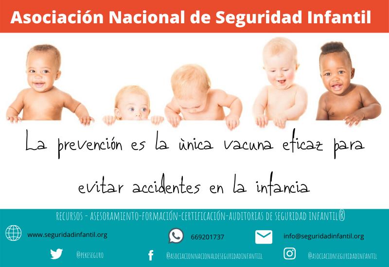 Los accidentes suponen la principal causa de mortalidad en la infancia